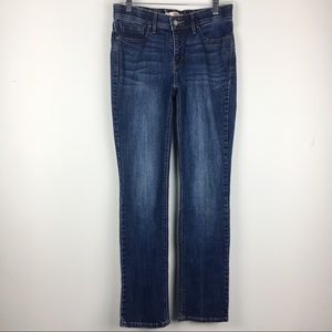 Levi's 525 Perfect Waist Straight Leg Jeans Size 6